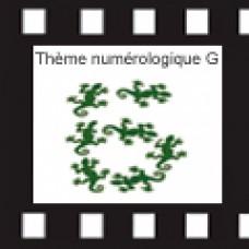 ETUDE : Thème Numerologique G VERSION PAPIER