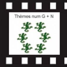 ETUDE : Thème Numerologique G+N  VERSION PAPIER