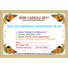 BON CADEAU CONSULTATION 2018